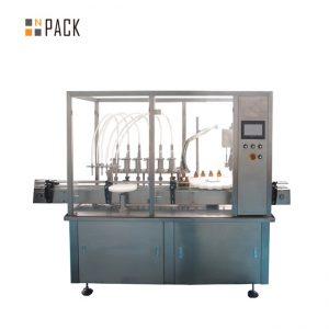 हॉट सेल ऑटोमॅटिक बाटली 2 नोजल फिलिंग मशीन औषधी वनस्पती फ्लॉवर आवश्यक तेलाची शीशी फिलिंग कॅपिंग मशीन