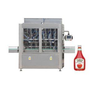 टोमॅटो पेस्ट सॉस जार जाम फिलिंग मशीन