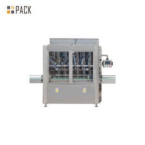 आवश्यक तेलासाठी स्वयंचलित रेखीय सरळ पिस्टन भरणे मशीन