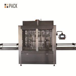 दोन डोके वायवीय व्हॉल्यूमेट्रिक पिस्टन लिक्विड फिलिंग मशीन