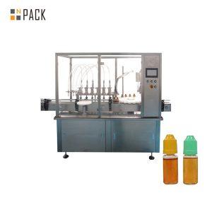छोट्या कुपीच्या बाटलीसाठी पेरीस्टॅलिटीक पंप लिक्विड फिलिंग मशीन