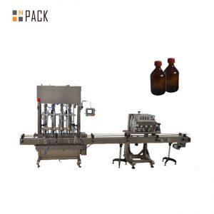उच्च अचूकता स्वयंचलित वंगण तेल / क्यूब तेल तेल भरणे मशीन
