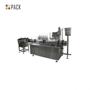 ई सिगारेट लिक्विडसाठी सानुकूलित ग्लास ड्रॉपर ई लिक्विड फिलिंग कॅपिंग लेबलिंग मशीन