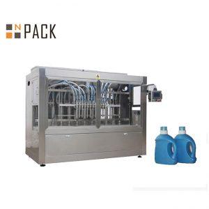स्वयंचलित द्रव 10 नोजल मोहरी तेल बाटली पॅकिंग मशीन