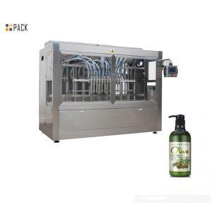 स्वयंचलित बाटलीबंद हाताने आंघोळ करणारे शैम्पू फिलिंग मशीन पूर्ण करा