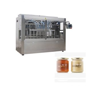 स्वस्त फिलिंग पॅकिंग जार मध बॉटलिंग मशीन