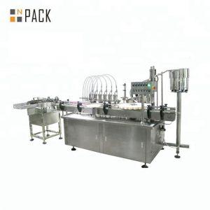 10 एमएल 30 एमएल 50 एमएल राउंड ग्लास बाटली कॉस्मेटिक आवश्यक तेल भरणे बाटली मशीन