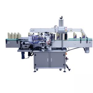 गरम विक्री ऑटो पेपर पेस्टिंग चिकट लेबल बाटली लेबलिंग मशीन