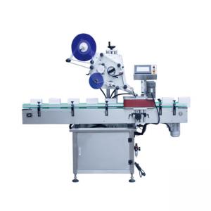 अनुलंब प्रकार स्वयंचलित गोल कंटेनर लेबलिंग मशीन